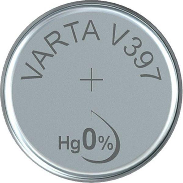 SR59 (V397) - Silberoxid - Knopfzelle für Uhren